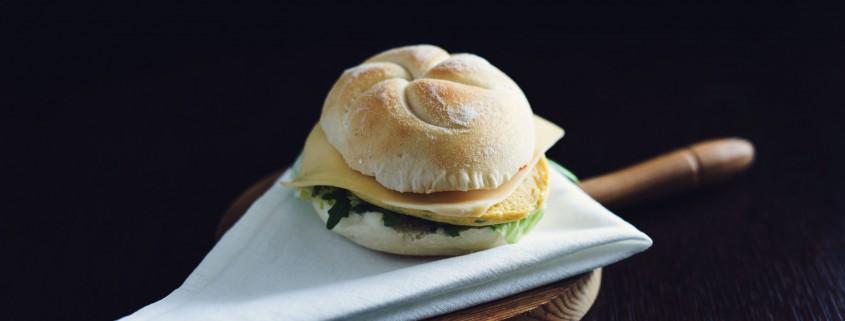 kanapka z omletem