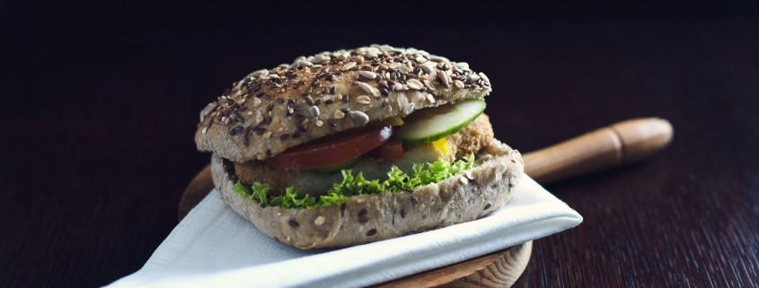 kanapka z kurczkakiem